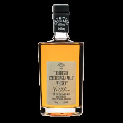 TREBITSCH Czech Single Malt Whisky 43% 0.5l