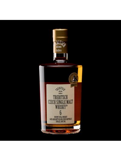 TREBITSCH Czech Single Malt Whisky 40% 6YO 0.5l