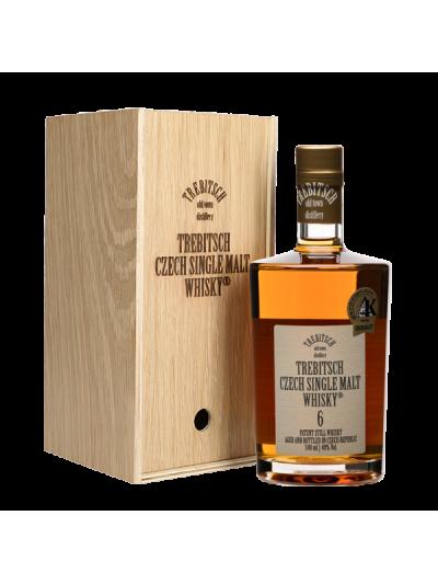 TREBITSCH Czech Single Malt Whisky 40% 6YO v dárkovém balení