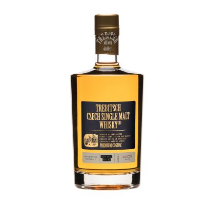 Double barrel aging Cognac 40% 0.5l