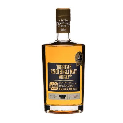 Double barrel aging Nicaragua Rum 40% 0.5l