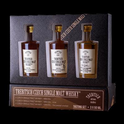 Degustační set 0.05l Single Malt Whisky 40% 4YO   40% 6YO   43%