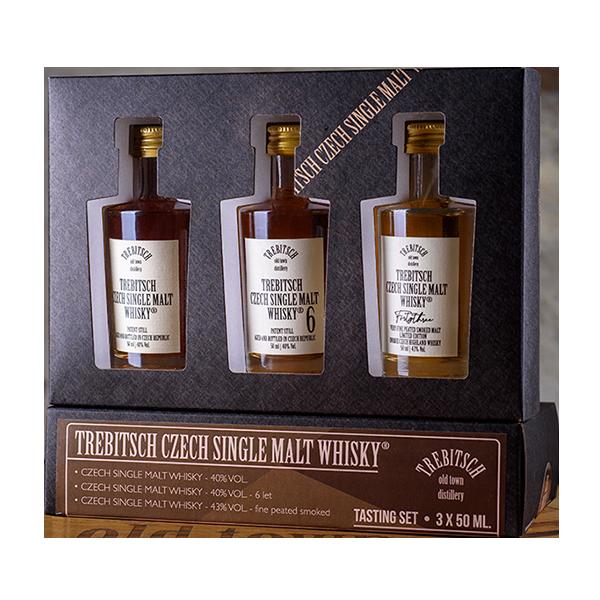 Degustační set 0.05l Single Malt Whisky 40% 4YO | 40% 6YO | 43%