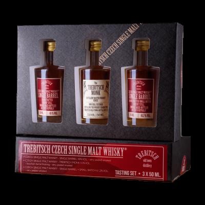 Degustační set 0.05l Single Malt Whisky 45%   51%   61,2%