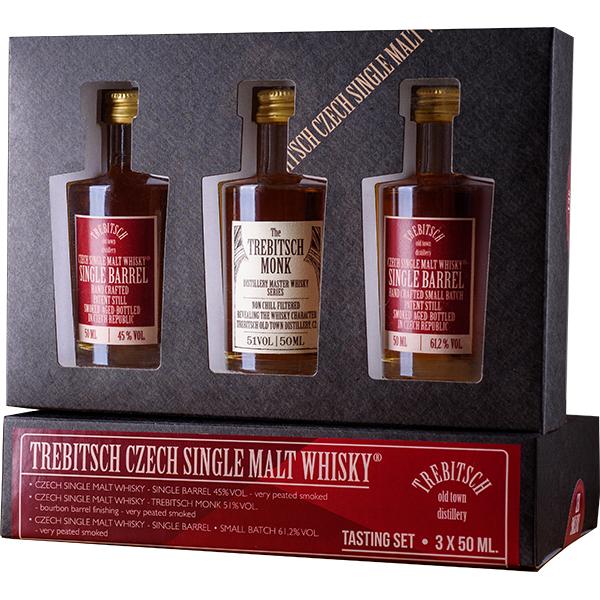 Degustační set 0.05l Single Malt Whisky 45% | 51% | 61,2%