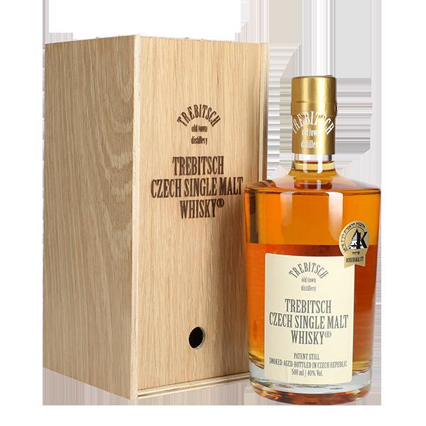 TREBITSCH Czech Single Malt Whisky 40% v dárkovém balení