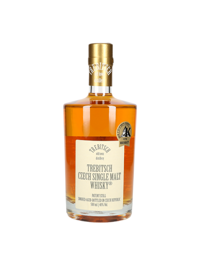 TREBITSCH Czech Single Malt Whisky 40% 0.5l